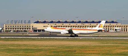 Parkin en el aeropuerto de Sevilla