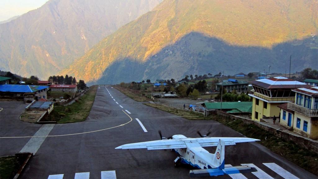 pistas de aterrizaje nepal