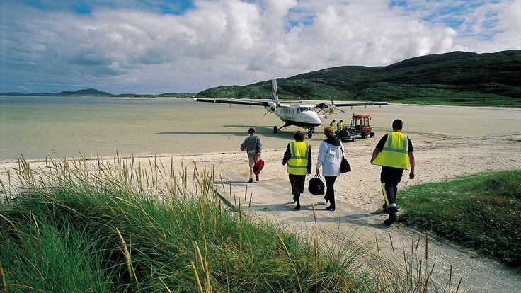 pistas de aterrizaje escocia