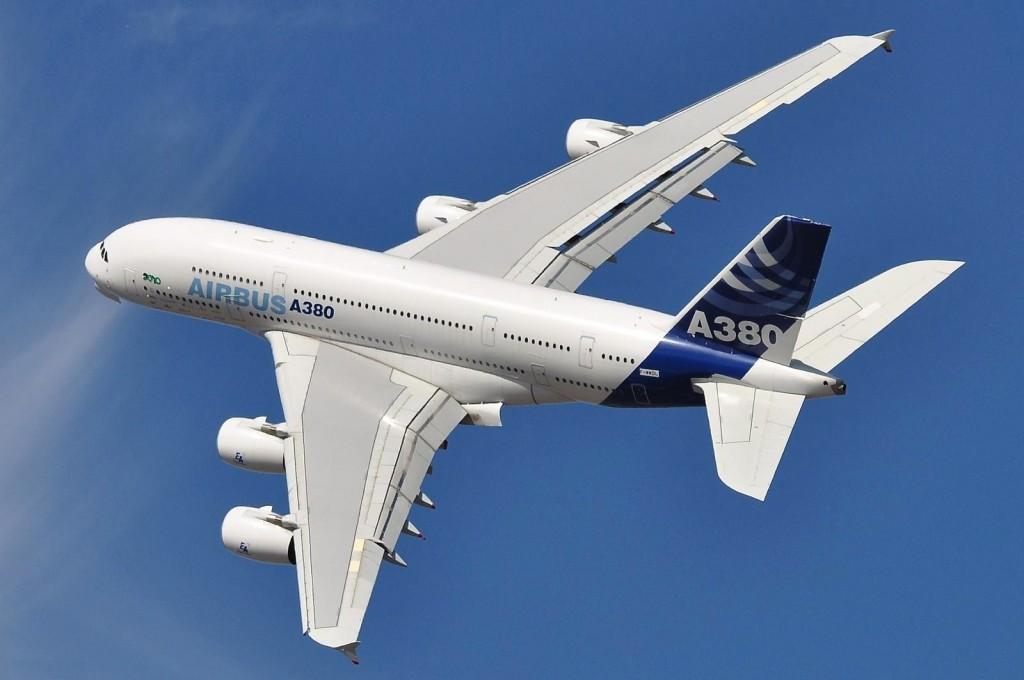 A380 en vuelo