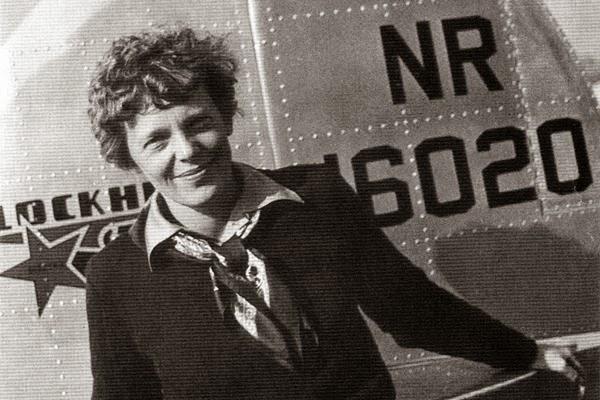 La primera mujer piloto, la historia de Amelia Earhart