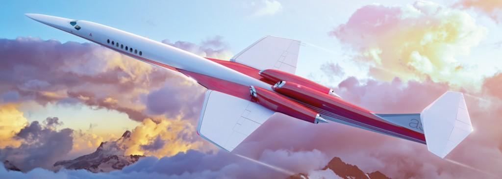 aerion as2 en vuelo