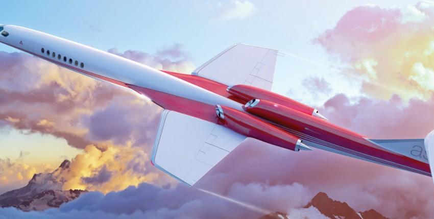 Aerion AS2, el nuevo jet supersónico