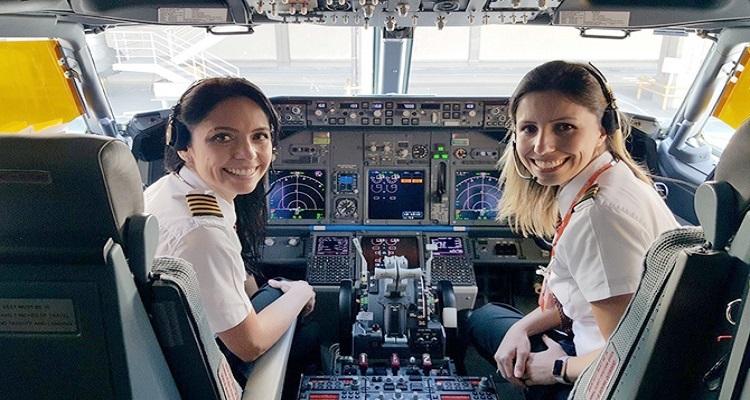 ¿Por qué hay tan pocas mujeres piloto de avión?