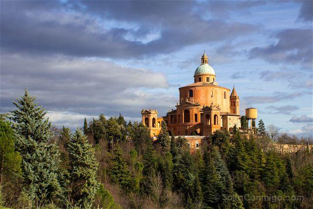 santuario bolonia lugar con encanto