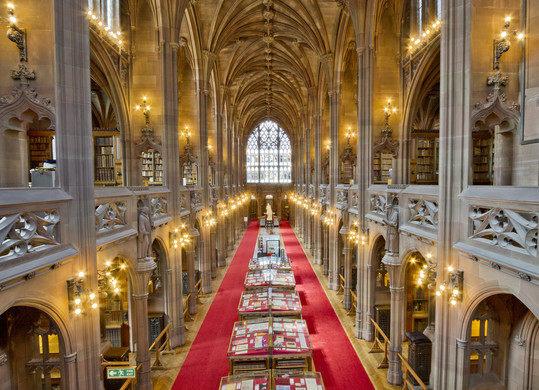 viajar a manchester y ver la john rylands library