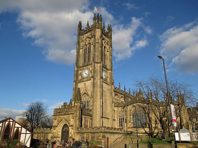 viajar a manchester catedral de manchester