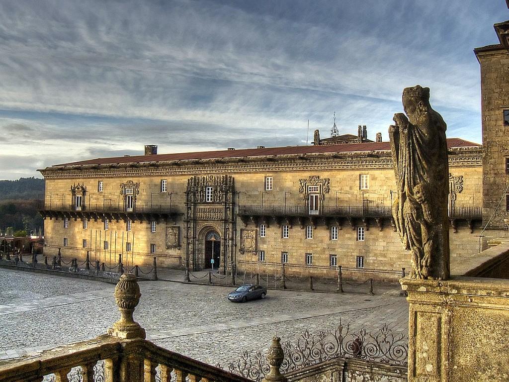 Hostal de los reyes católicos Santiago de Compostela