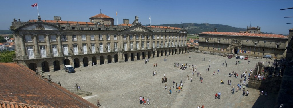 Plaza del Obradorio Santiago de Compostela