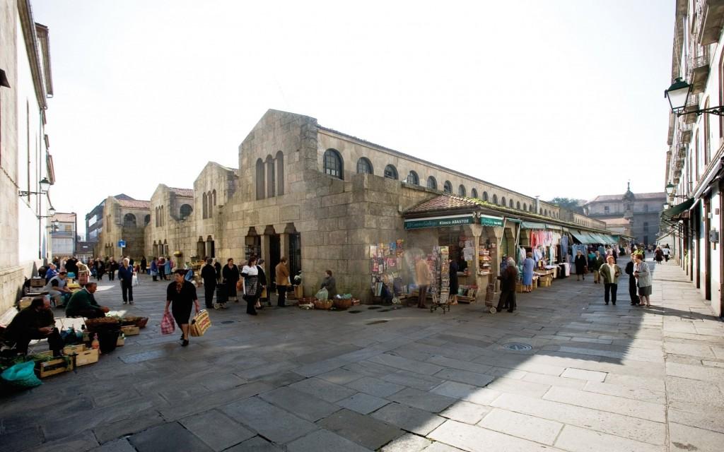 Plaza de abastos Santiago de Compostela