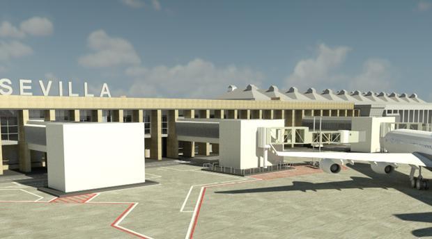 conexión aérea nueva ampliación del aeropuerto