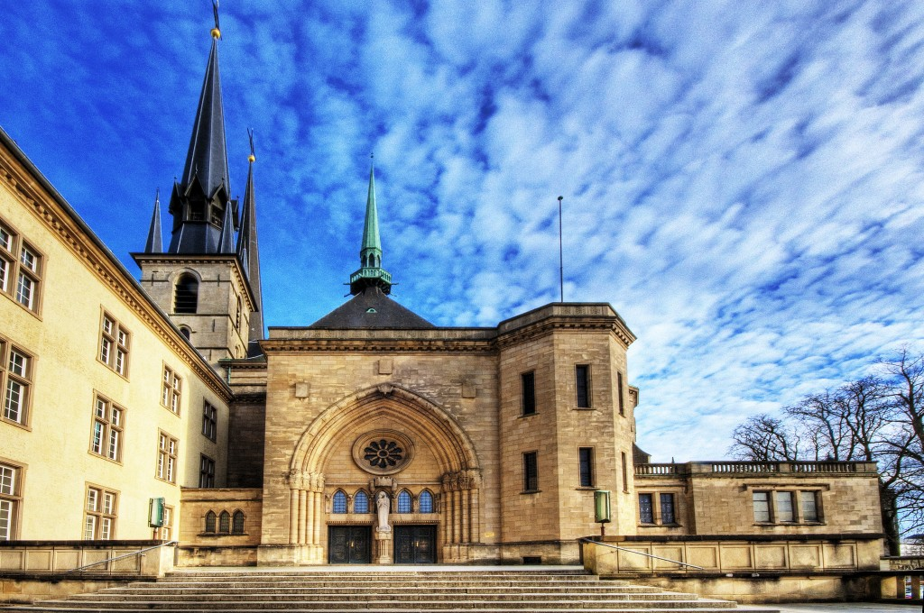 La Catedral de Notre-Dame en Luxemburgo