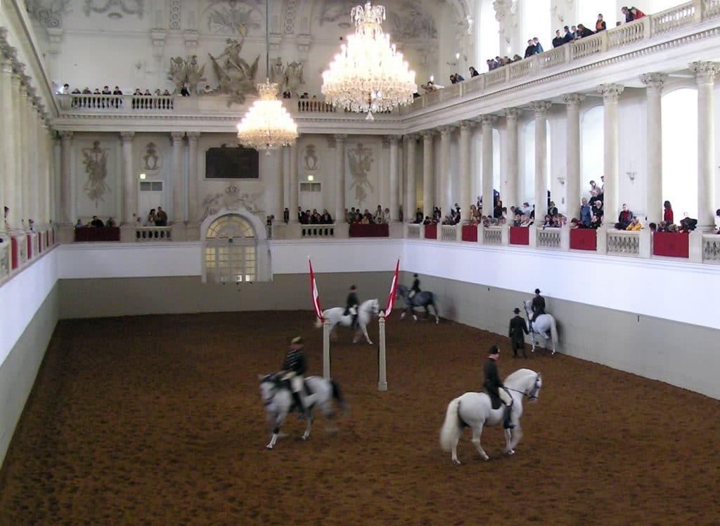 La Escuela de Equitación Española en Viena