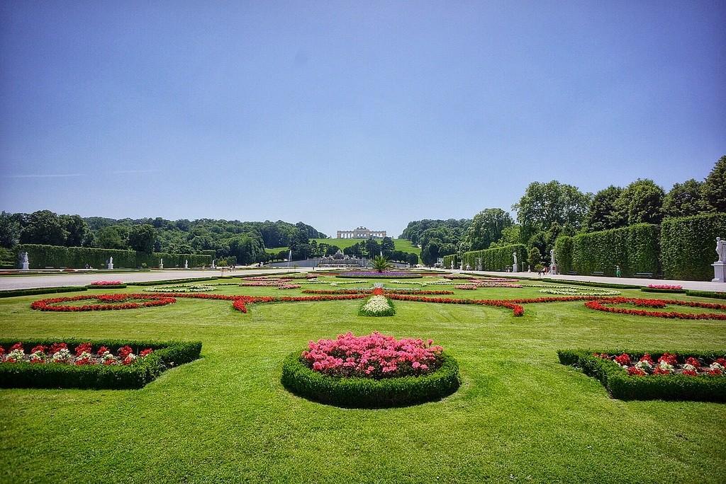Los jardines Schonbrunn