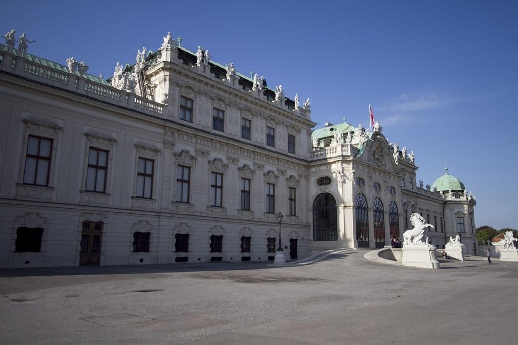 El Museo Belvedere de Viena