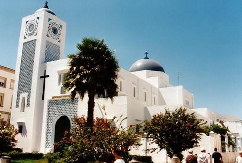 Iglesia de San Andrés visitar Tánger