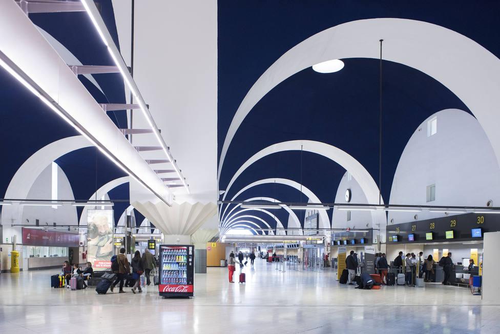 digitalización aeropuerto sevilla
