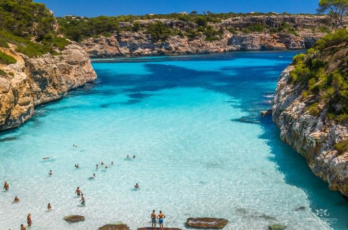 Visita las calas de Mallorca