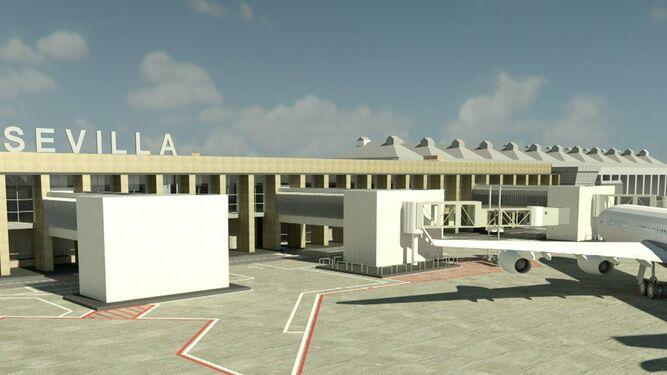 El Aeropuerto de Sevilla se moderniza