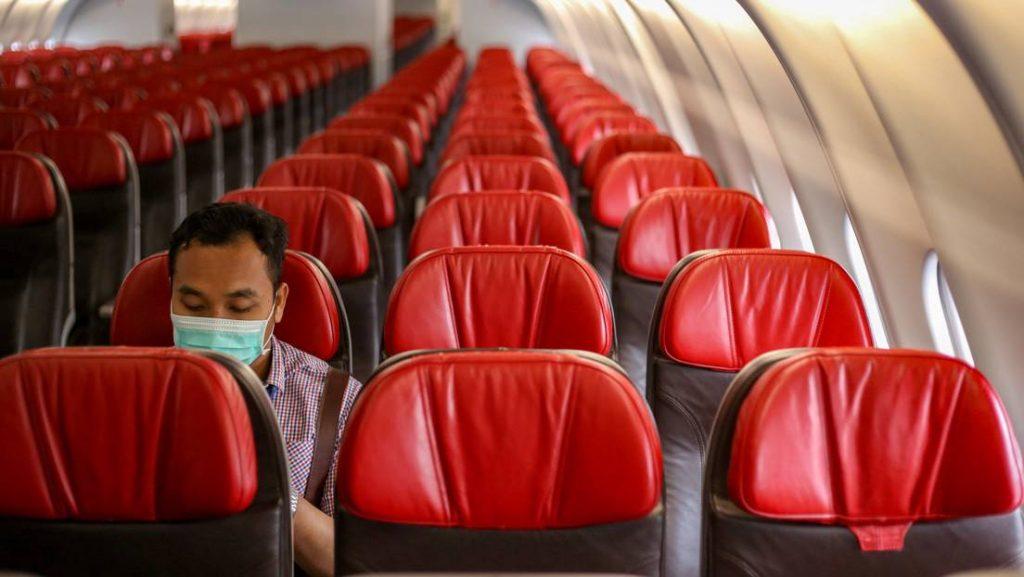 trafico aéreo aviones vacíos